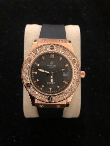 New Hublot Gold Diamond Watch AAA