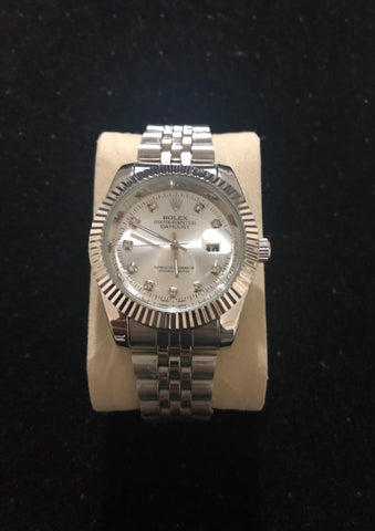New Silver Rolex Oyster Perpetual AAA