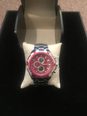Red Stunner Watch