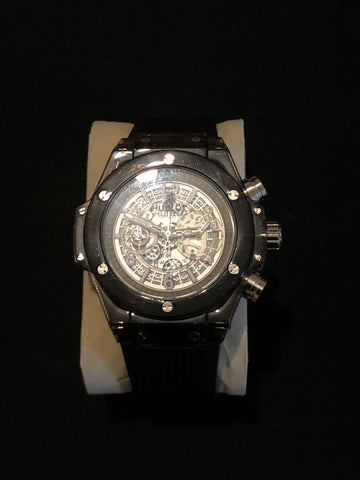 New Black Hublot Geneve AAA