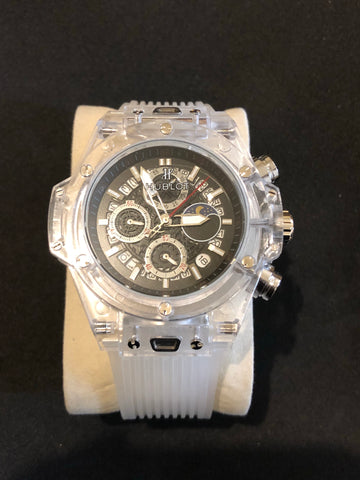New Hublot White Crystal AAA