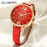 New Fashion Woman Casual Checkers Faux Leather Quartz Analog Wrist Watch