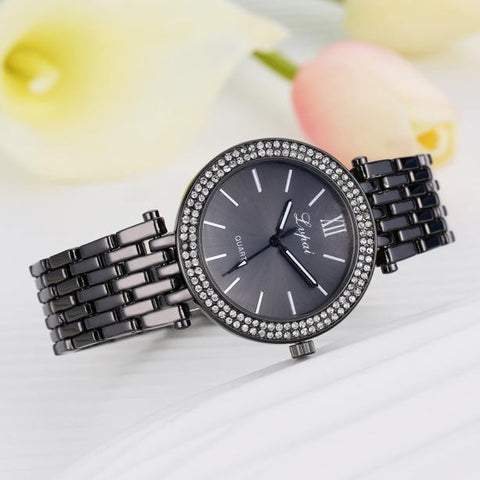 New Women Quartz Wristwatch Clock Ladies Dress Gift Watch