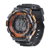 Men Fashion LED Digital Alarm Date Rubber Army Watch Waterproof Sport Wristwatch