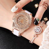New Women Watch Dress Quartz Watch Fashion Casual Brand Ceramic Bangles Watch Ladies Waterproof Watch Lady luxury Table