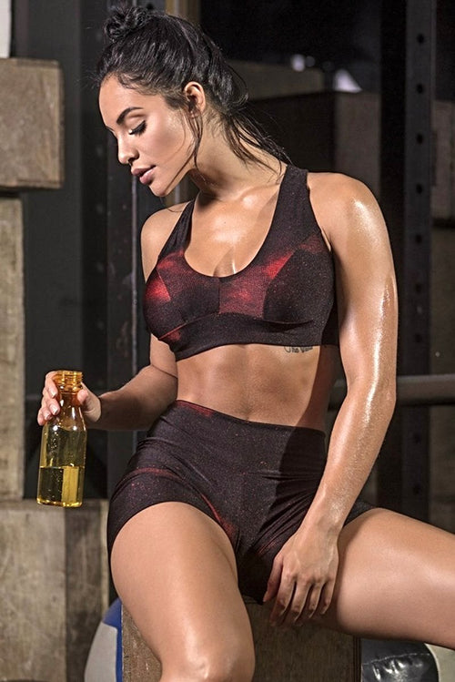 STYLE-DUST-RED-SHORTS-GYM-ROCKS-CAPE-TOWN-1