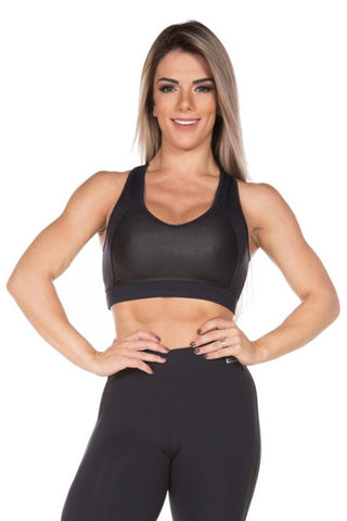 BLACK ELITE EVERLAST BRA