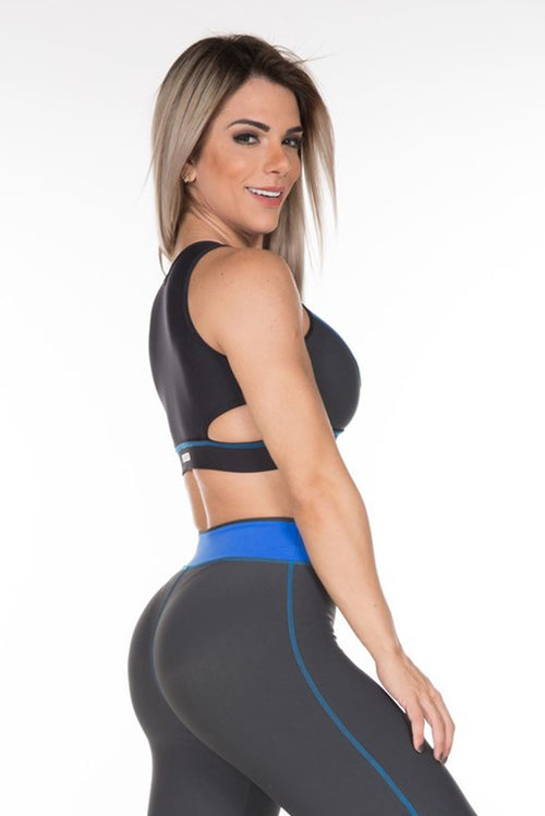 sexy cut-out sport bra