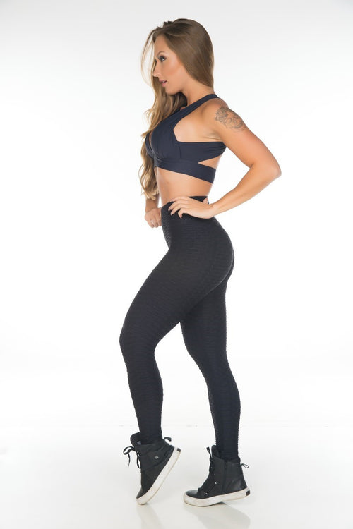 Workout textured legging that shapes your body.