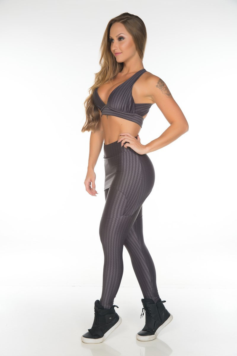 LUSTROUS SKIRTED STYLE LEGGING