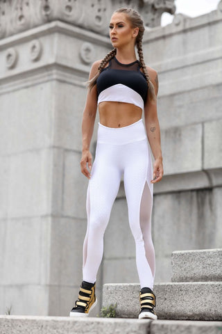 ARMY MESH LEGGING