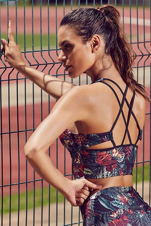 WILDFLOWER PADDED STRAPPY BRA