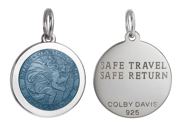 Colby Davis Pendant: Small Saint Christopher