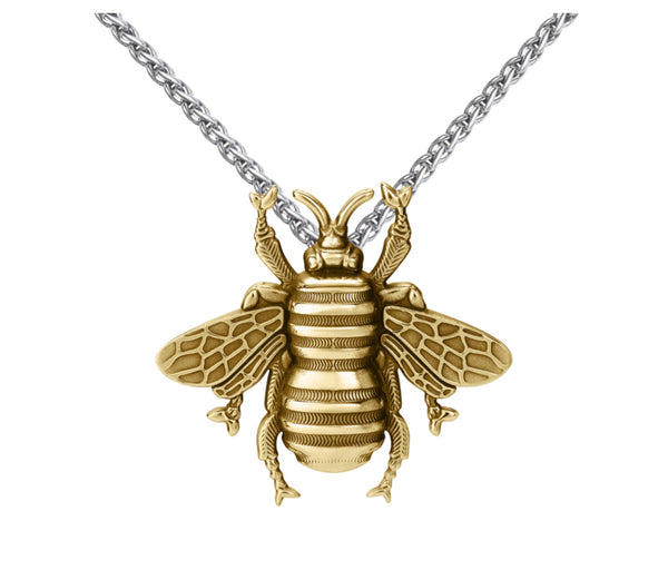 Colby Davis Large Bee Pendant