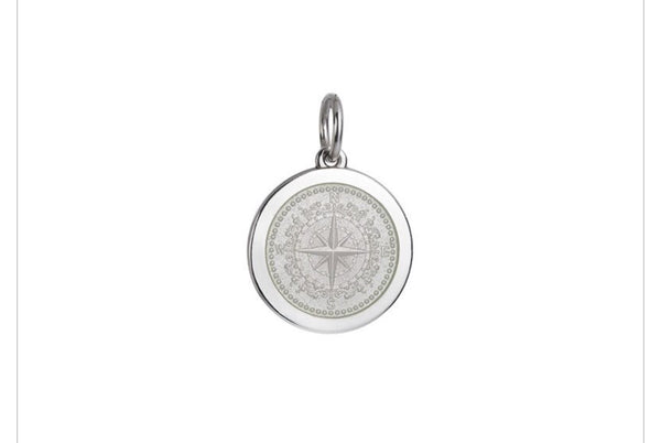 Colby Davis Pendant: Medium Compass Rose