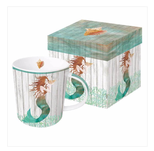 Waterside Mermaid Gift-Boxed Mug