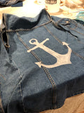 DIY Custom Painted Denim Class April 11 6-9pm