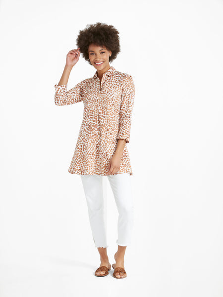 Nic+Zoe Copper Kiss Shirt Jacket