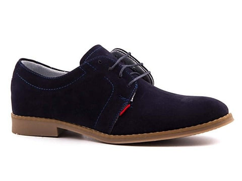 Jericho Suede Navy