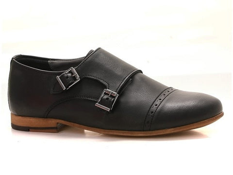 Olivier Double Monk Strap