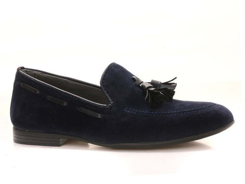 Highlands Suede Navy