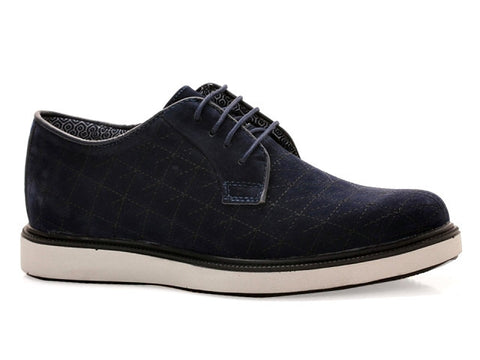 The Cairo Navy Suede