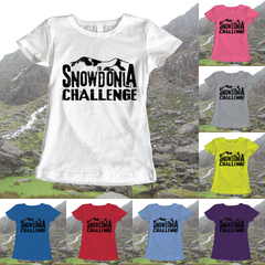 Snowdonia Challenge - Ladies T-Shirt