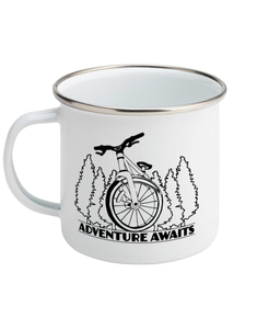 Adventure Awaits - Enamel Mug, Suggested Products, Pen and Ink Studios Adventure Clothing