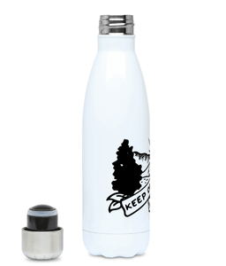 Keep On Wandering - Plastic Free 500ml Water Bottle, Suggested Products, Pen and Ink Studios Adventure Clothing