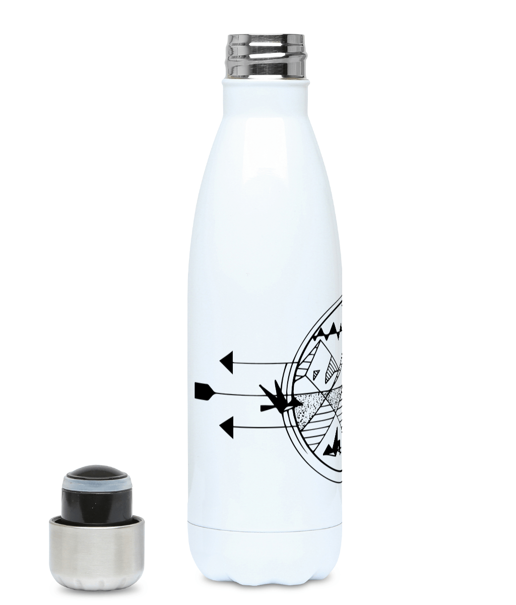 Geometric World - Plastic Free 500ml Water Bottle, Suggested Products, Pen and Ink Studios Adventure Clothing