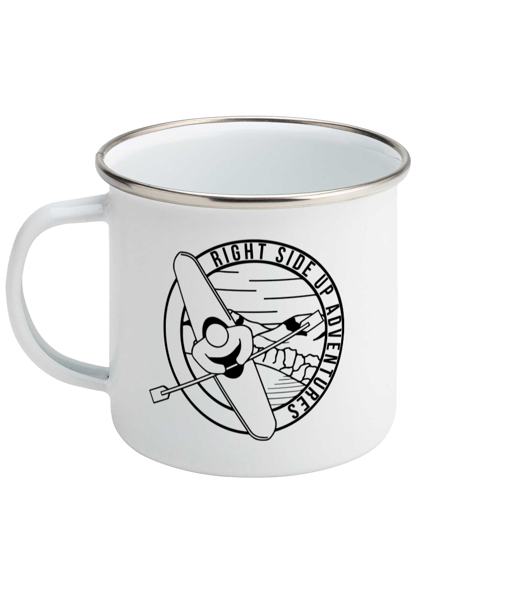Right Side Up Adventures - Enamel Mug, Suggested Products, Pen and Ink Studios Adventure Clothing