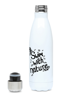 Swim With Nature - Plastic Free 500ml Water Bottle, Suggested Products, Pen and Ink Studios Adventure Clothing