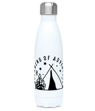 Dreaming Of Adventure - Plastic Free 500ml Water Bottle - Pen and Ink Studios
