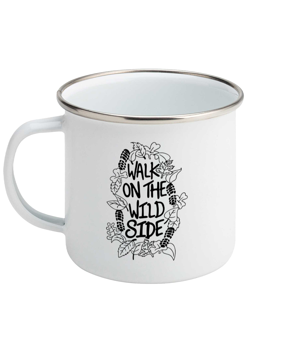 Walk On The Wild Side - Enamel Mug, Suggested Products, Pen and Ink Studios Adventure Clothing