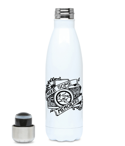 Make Some Memories - Plastic Free 500ml Water Bottle, Suggested Products, Pen and Ink Studios Adventure Clothing