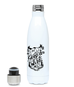 Keep It Wild - Plastic Free 500ml Water Bottle, Suggested Products, Pen and Ink Studios Adventure Clothing