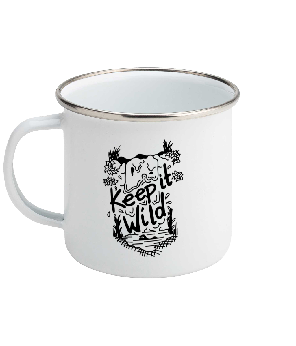 Keep It Wild - Enamel Mug, Suggested Products, Pen and Ink Studios Adventure Clothing