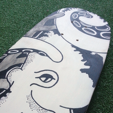 Limited Edition Skateboard - 1 of 1 - Octopus design, , Pen and Ink Studios - Pen and Ink Studios
