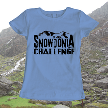 The Snowdonia Challenge T-shirt - Mens, Ladies, Available in 8 different colours, walking, exploring, adventure, T-Shirt, Pen and Ink Studios - Pen and Ink Studios
