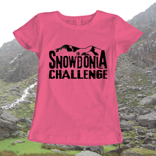 The Snowdonia Challenge T-shirt - Mens, Ladies, Available in 8 different colours, walking, exploring, adventure - Pen and Ink Studios