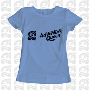 Adventure Queen - Adult, Mens, Womens, Tshirt, adventure, explore, T-Shirt, Pen and Ink Studios Adventure Clothing