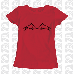 Adventure Queen - Wander Woman - Adult, Mens, Womens, Tshirt, adventure, explore, T-Shirt, Pen and Ink Studios Adventure Clothing