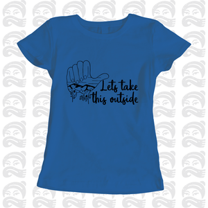 Adventure Queen - Let's Take This Outside - Adult, Mens, Womens, Tshirt, adventure, explore