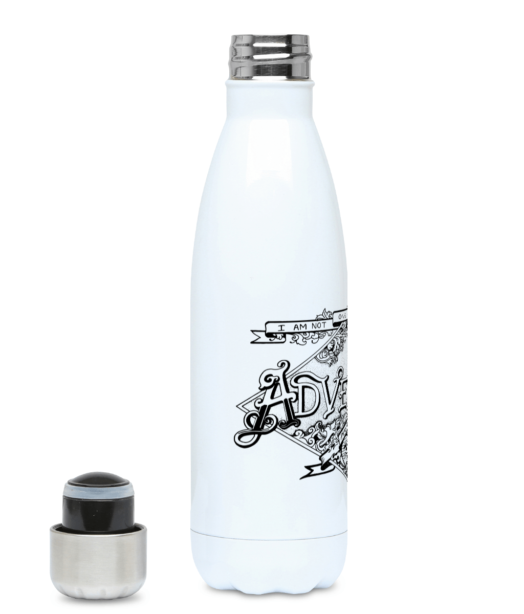 One Of The Lost  - Plastic Free 500ml Water Bottle - Pen and Ink Studios