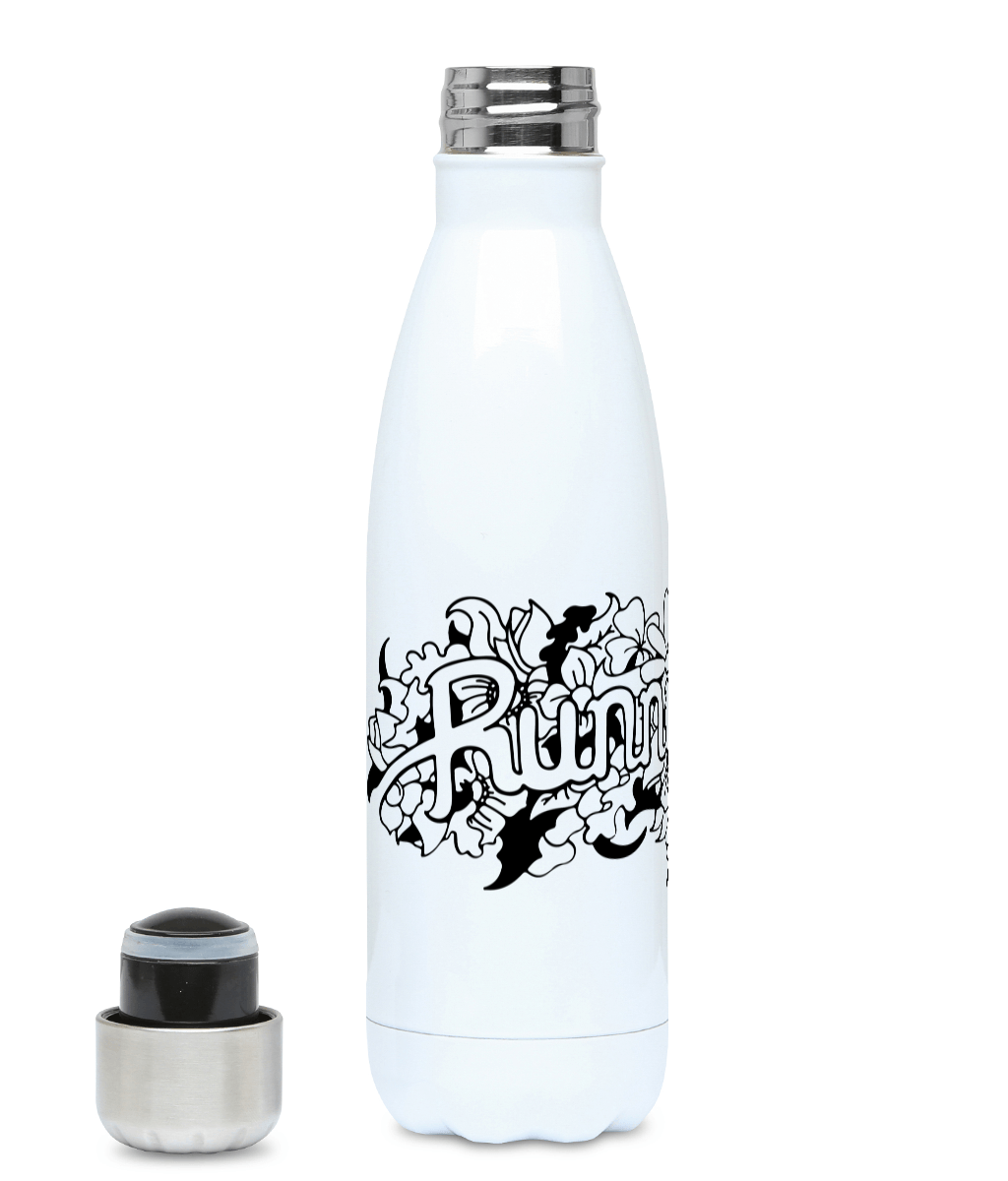 Running Wild - Plastic Free 500ml Water Bottle, Suggested Products, Pen and Ink Studios Adventure Clothing