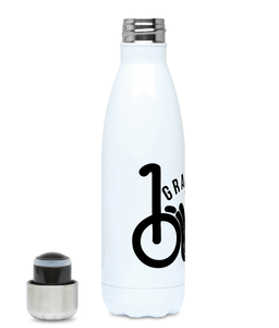 Grab Your Bike - Plastic Free 500ml Water Bottle, Suggested Products, Pen and Ink Studios Adventure Clothing