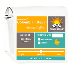 SUNSPRESSO™, Decaf Colombian