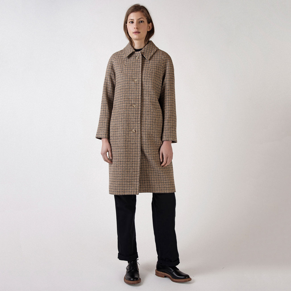 Heritage Check Lambswool Louis Coat