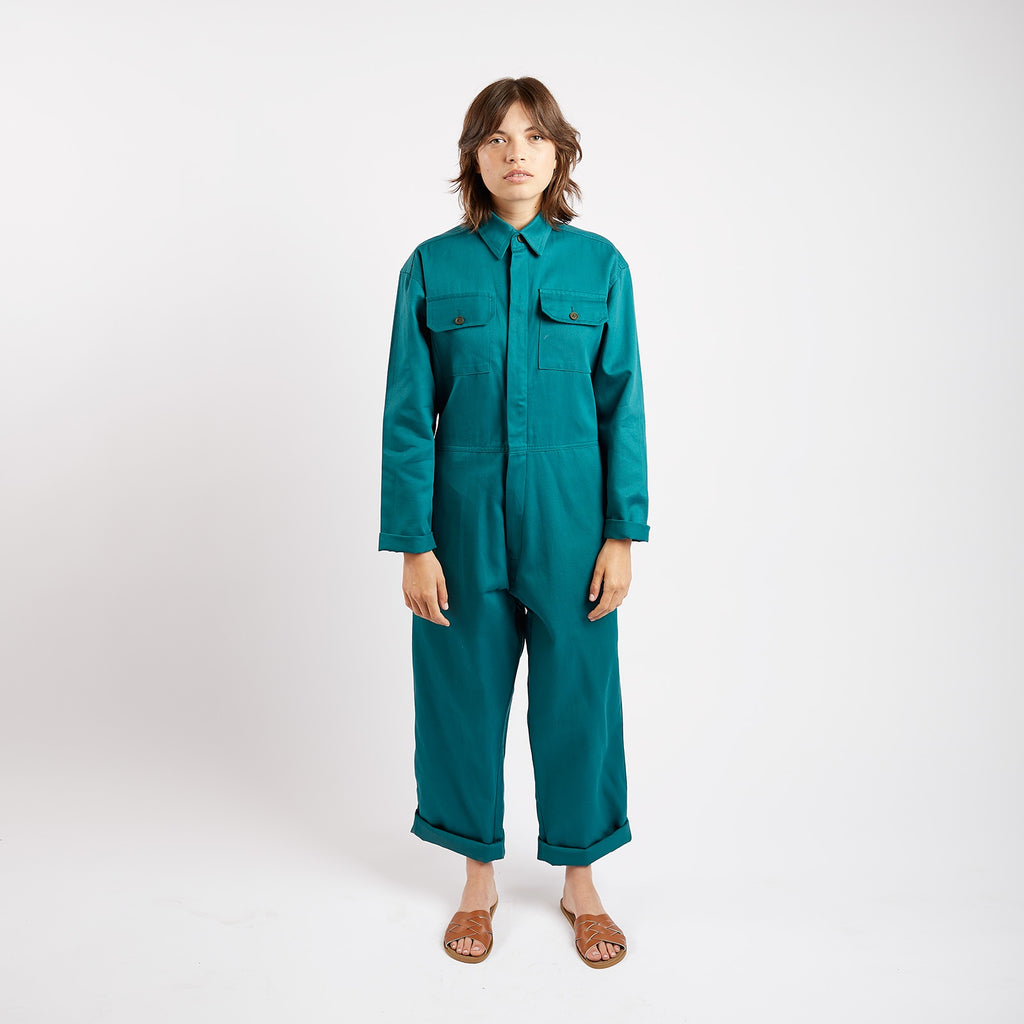 Bottle Drill Pocketed Boiler Suit