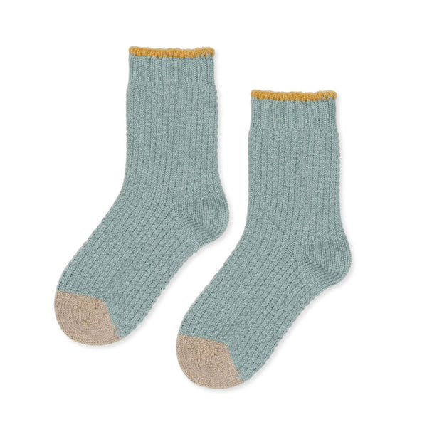 Hansel From Basel Honeycomb Wool Crew Socks